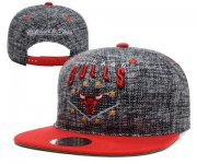 Wholesale Cheap NBA Chicago Bulls Snapback Ajustable Cap Hat YD 03-13_68