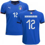 Wholesale Cheap Italy #12 Donnarumma Home Kid Soccer Country Jersey