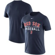 Wholesale Cheap Boston Red Sox Nike Practice Performance T-Shirt Navy