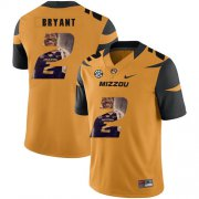 Wholesale Cheap Missouri Tigers 2 Kelly Bryant Gold Nike Fashion College Football Jersey