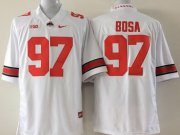 Wholesale Cheap Ohio State Buckeyes #97 Joey Bosa 2014 White Limited Jersey