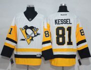 Wholesale Cheap Penguins #81 Phil Kessel White New Away Stitched NHL Jersey