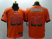 Wholesale Cheap Nike Bengals #25 Giovani Bernard Orange Alternate Men's Stitched NFL Elite Drift Fashion Jersey