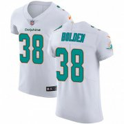 Wholesale Cheap Nike Dolphins #38 Brandon Bolden White Men's Stitched NFL Vapor Untouchable Elite Jersey
