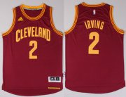 Wholesale Cheap Cleveland Cavaliers #2 Kyrie Irving Revolution 30 Swingman 2014 New Red Jersey