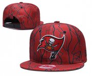 Wholesale Cheap Buccaneers Team Logo Red Adjustable Hat TX