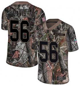 Wholesale Cheap Nike Saints #56 DeMario Davis Camo Men\'s Stitched NFL Limited Rush Realtree Jersey