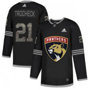 Wholesale Cheap Adidas Panthers #21 Vincent Trocheck Black Authentic Classic Stitched NHL Jersey