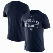 Wholesale Cheap Toronto Blue Jays Nike Practice T-Shirt Navy