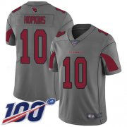 Wholesale Cheap Nike Cardinals #10 DeAndre Hopkins Silver Men's Stitched NFL Limited Inverted Legend 100th Season Jersey
