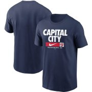 Wholesale Cheap Washington Nationals Nike Local Nickname T-Shirt Navy