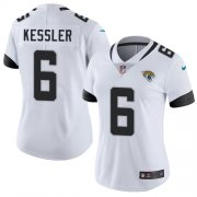 Wholesale Cheap Nike Jaguars #6 Cody Kessler White Women's Stitched NFL Vapor Untouchable Limited Jersey