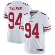 Wholesale Cheap Nike 49ers #94 Solomon Thomas White Men's Stitched NFL Vapor Untouchable Limited Jersey