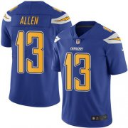 Wholesale Cheap Nike Chargers #13 Keenan Allen Electric Blue Men's Stitched NFL Limited Rush Jersey