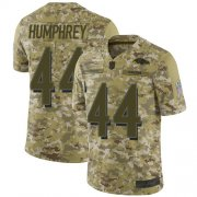 Wholesale Cheap Nike Ravens #44 Marlon Humphrey Camo Men's Stitched NFL Limited 2018 Salute To Service Jersey