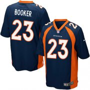Wholesale Cheap Nike Broncos #23 Devontae Booker Blue Alternate Youth Stitched NFL New Elite Jersey