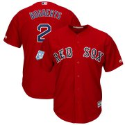 Wholesale Cheap Red Sox #2 Xander Bogaerts Red 2019 Spring Training Cool Base Stitched MLB Jersey