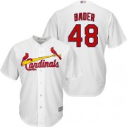 Wholesale Cheap Cardinals #48 Harrison Bader White Cool Base Stitched Youth MLB Jersey