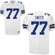 Wholesale Cheap Cowboys #77 Tyron Smith White Stitched NFL Jersey