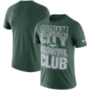 Wholesale Cheap New York Jets Nike Local Verbiage Performance T-Shirt Green