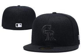Wholesale Cheap Colorado Rockies fitted hats 02