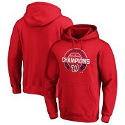 Wholesale Cheap Washington Nationals Majestic 2019 World Series Champions Forkball Pullover Hoodie Red