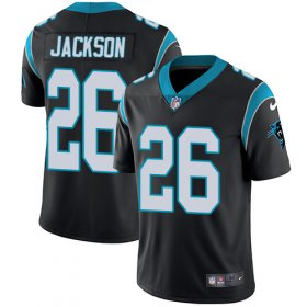Wholesale Cheap Nike Panthers #26 Donte Jackson Black Team Color Men\'s Stitched NFL Vapor Untouchable Limited Jersey