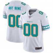 Wholesale Cheap Miami Dolphins Custom Nike White Team Logo Vapor Limited NFL Jersey