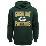 Wholesale Cheap Green Bay Packers Home Turf Pullover Hoodie Green