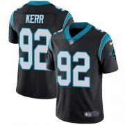 Wholesale Cheap Nike Panthers #92 Zach Kerr Black Team Color Youth Stitched NFL Vapor Untouchable Limited Jersey