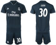 Wholesale Cheap Real Madrid #30 Luca Away Soccer Club Jersey