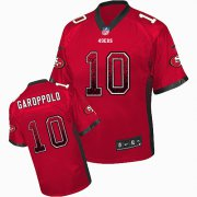 Wholesale Cheap Nike 49ers #10 Jimmy Garoppolo Red Team Color Men's Stitched NFL Elite Drift Fashion Jersey