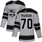 Wholesale Cheap Adidas Kings #70 Tanner Pearson Gray Alternate Authentic Stitched NHL Jersey