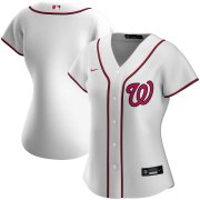 Wholesale Cheap Washington Nationals Nike Women's Home 2020 MLB Team Jersey White