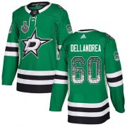 Wholesale Cheap Adidas Stars #60 Ty Dellandrea Green Home Authentic Drift Fashion 2020 Stanley Cup Final Stitched NHL Jersey