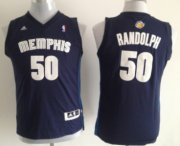 Cheap Memphis Grizzlies #50 Zach Randolph Navy Blue Kids Jersey