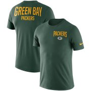 Wholesale Cheap Green Bay Packers Nike Sideline Facility Performance T-Shirt Green