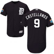 Wholesale Cheap Tigers #9 Nick Castellanos Navy Blue Flexbase Authentic Collection Stitched MLB Jersey