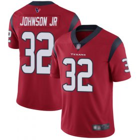 Wholesale Cheap Nike Texans #32 Lonnie Johnson Jr. Red Alternate Youth Stitched NFL Vapor Untouchable Limited Jersey