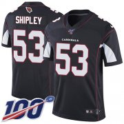 Wholesale Cheap Nike Cardinals #53 A.Q. Shipley Black Alternate Men's Stitched NFL 100th Season Vapor Limited Jersey