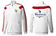 Wholesale Cheap NFL Minnesota Vikings Victory Jacket White