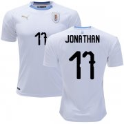 Wholesale Cheap Uruguay #17 Jonathan Away Soccer Country Jersey