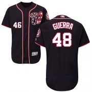 Wholesale Cheap Nationals #48 Javy Guerra Navy Blue Flexbase Authentic Collection Stitched MLB Jersey