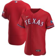 Wholesale Cheap Texas Rangers Men's Nike Red Alternate 2020 Authentic MLB Jersey
