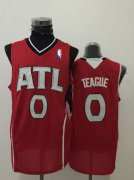 Wholesale Cheap Men's Atlanta Hawks #0 Jeff Teague Red Swingman Jersey