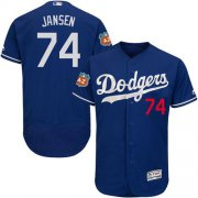 Wholesale Cheap Dodgers #74 Kenley Jansen Blue Flexbase Authentic Collection Stitched MLB Jersey