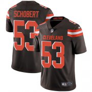Wholesale Cheap Nike Browns #53 Joe Schobert Brown Team Color Men's Stitched NFL Vapor Untouchable Limited Jersey