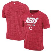 Wholesale Cheap Cincinnati Reds Nike Authentic Collection Velocity Team Issue Performance T-Shirt Red
