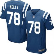 Wholesale Cheap Nike Colts #78 Ryan Kelly Royal Blue Team Color Men's Stitched NFL Elite Jersey
