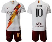 Wholesale Cheap Roma #10 Totti Away Soccer Club Jersey